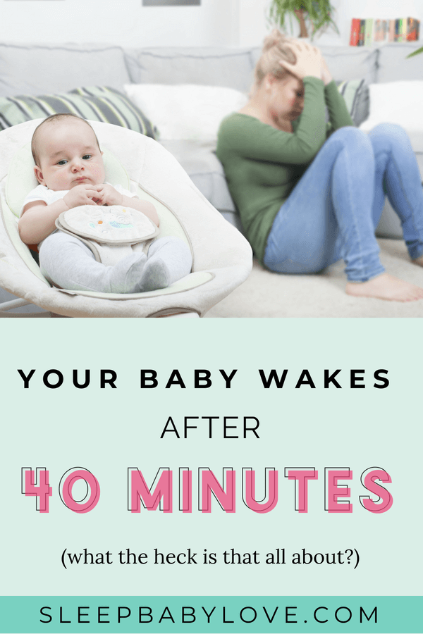 You Put Your Baby To Bed And 40 Minutes Later, They're Up Screaming. Sometimes They Can Fall Back Asleep On Their Own, But Sometimes You Go In And Rock Or Feed Your Baby, Trying To Help Get Them Back To Sleep. This Is Called The 40-minute Sleep Intruder! Click Through To Learn How You Can Battle The 40-minute Sleep Intruder And Get Your Baby Back To Sleep! Baby Sleep Tips | How To Get Your Baby To Sleep | Newborn Sleep | Parenting #sleepbabylove #sleeptips #sleep #parenting #newmom #babysleep
