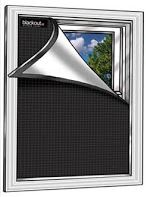 Blackout window covers are great when you need to darken your room and keep the cold air out!