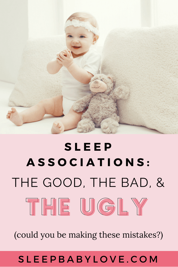 Sleep Associations. Your Baby Is Now 4 Months Old, And You Start To Notice A Disturbing Trend In Their Sleep Habits. It's Time To Look At Your Baby's Sleep Association And See If That Is Helping Or Harming Their Overall Sleep Pattern. Click Through To See If You Could Be Harming Your Child's Sleep Pattern, And How To Get Them Back To A Sleep Routine. Sleep Regressions | Baby Sleep Tips | How To Get Your Baby To Sleep | Toddler Sleep #sleepbabylove #sleeptips #sleepthroughthenight #babysleep #babies #toddlersleep #regressions