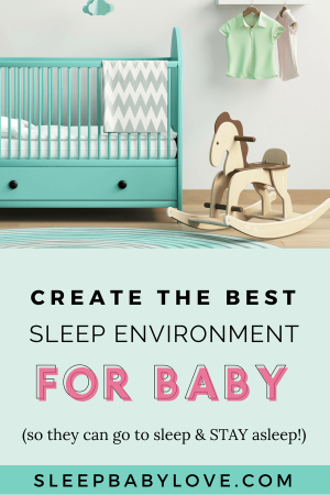 Spend Less Time Creating A Beautiful Nursery And More Time On Understanding The Sleep Environment Your Baby Needs For Restful Sleep! Click Through To Learn Why A Cool, Dark, And Quiet Space Will Help Your Baby Sleep Soundly. Baby Sleep Tips | How To Get Your Baby To Sleep | Newborn Sleep | Parenting #sleepbabylove #sleeptips #sleep #parenting #newmom #babysleep #newborn