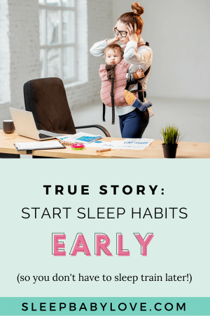 I Love That I Can Share Inspirational Stories That Can Help Others Find The Motivation They Need To Get Through A Rough Patch With A Tough, Sleeping Baby. Click Through To Read This Motivational Story From A Mom Who Did NOT Have To Sleep Train Her Baby! Baby Sleep Tips | How To Get Your Baby To Sleep | Newborn Sleep | Parenting #sleepbabylove #sleeptips #sleep #parenting #newmom #babysleep #newborn